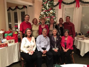 Orlando Mended Hearts Board of Dircetors at 2015 Christmas Party